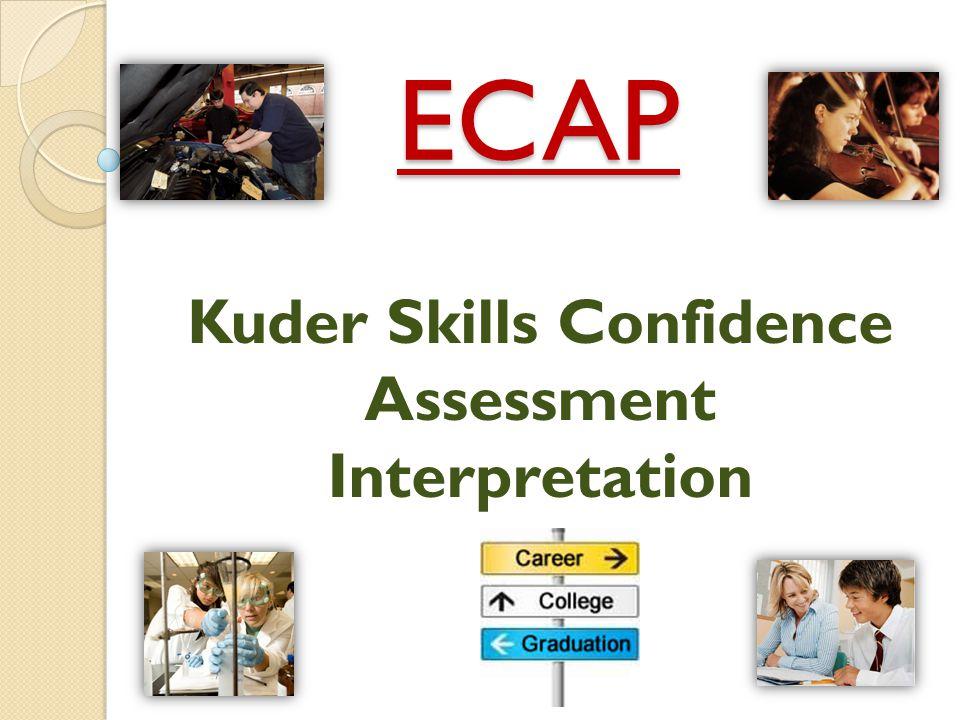ECAP Kuder Skills Confidence Assessment Interpretation