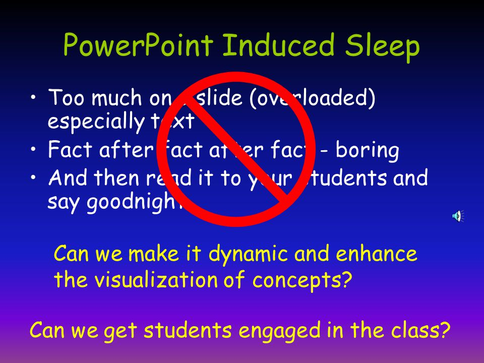 Dynamic PowerPoint: A Visualization Tool for Engaging Learners Scott A.