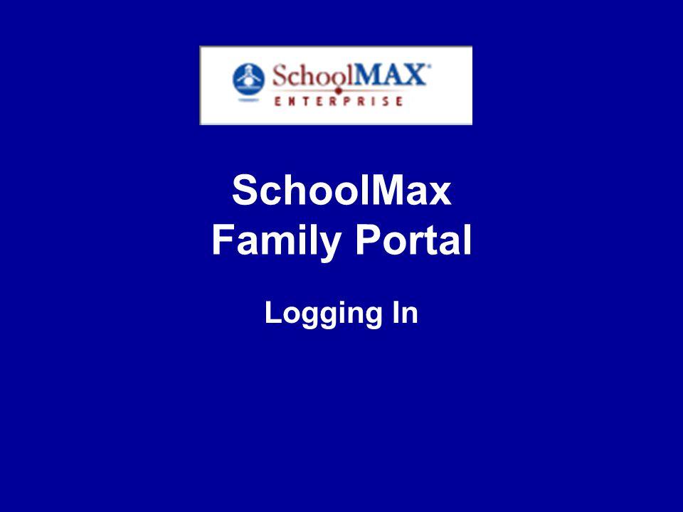 SchoolMAX Family Portal Progress Report Tab
