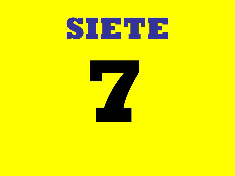 SIETE 7