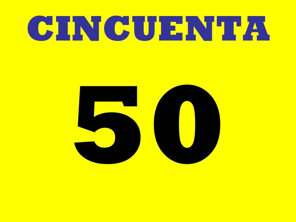 CINCUENTA 50