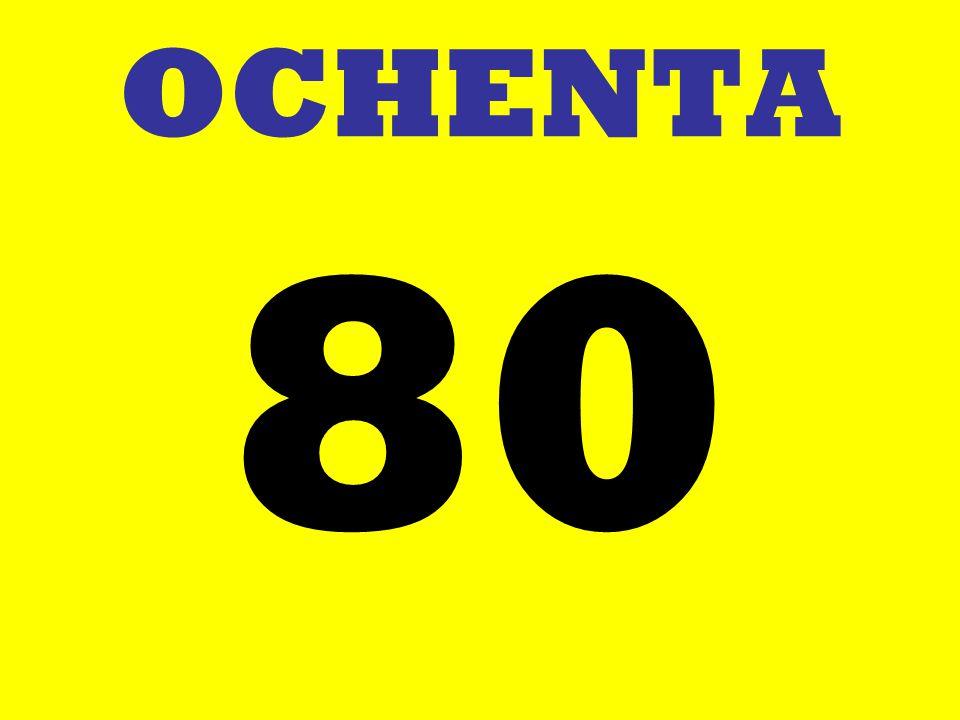 OCHENTA 80