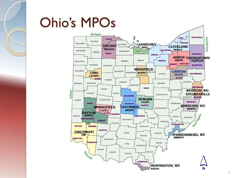 Ohio's MPOs 6