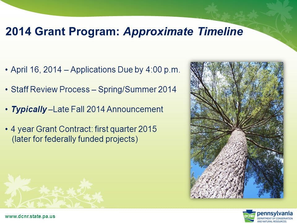 www.dcnr.state.pa.us Trails Projects Trails Project Types Planning Acquisition Development Equipment Purchase