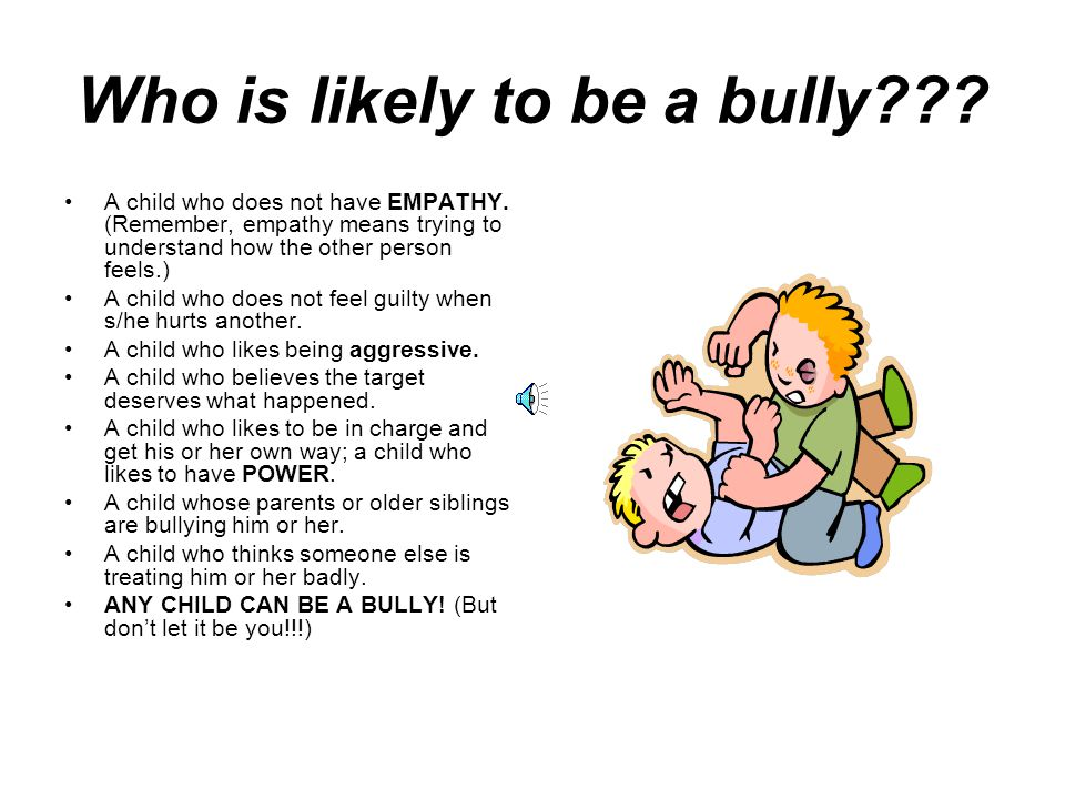 Why-oh-why.Why Do People Bully. To get power. To gain popularity.