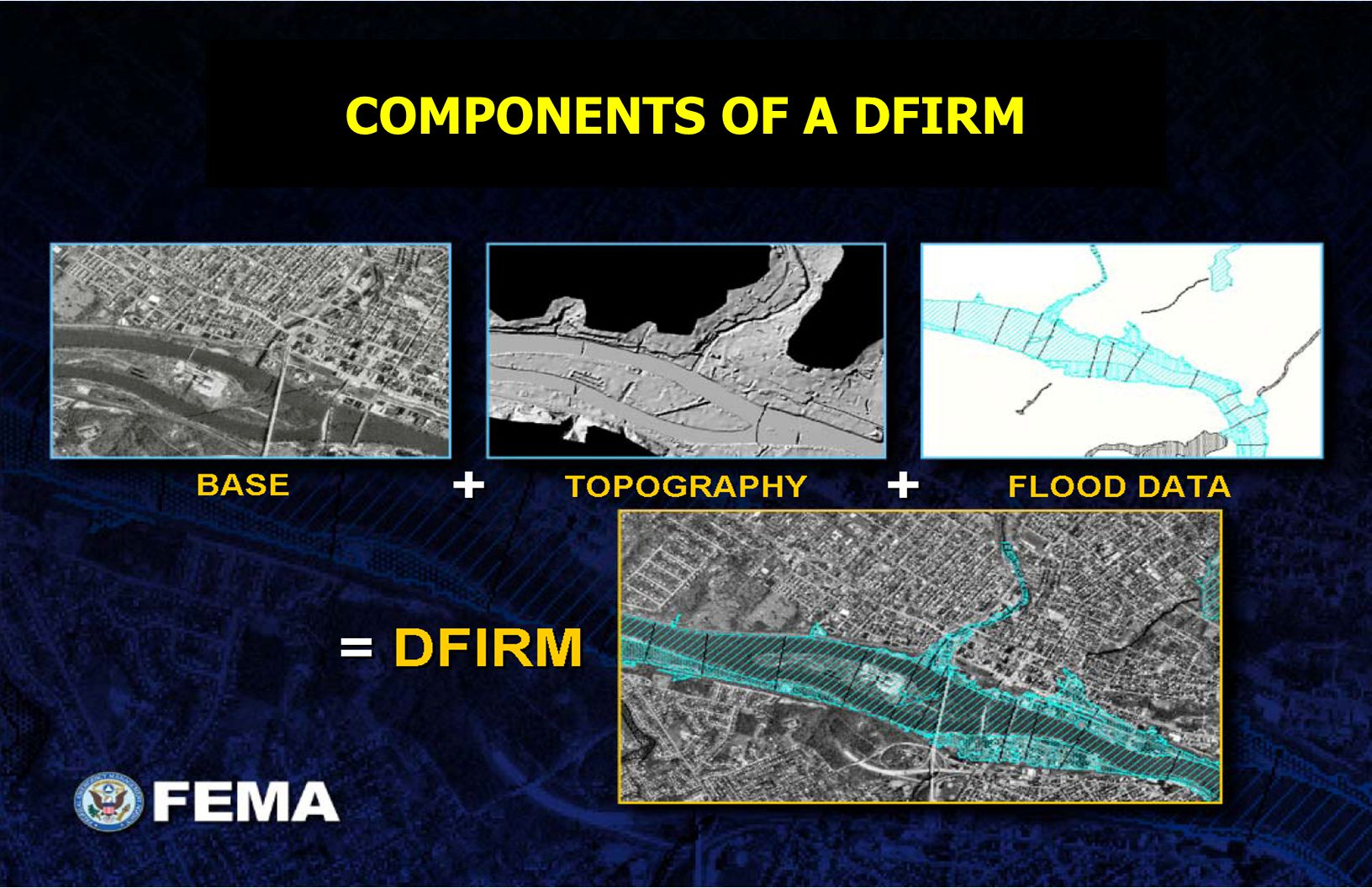 COMPONENTS OF A DFIRM
