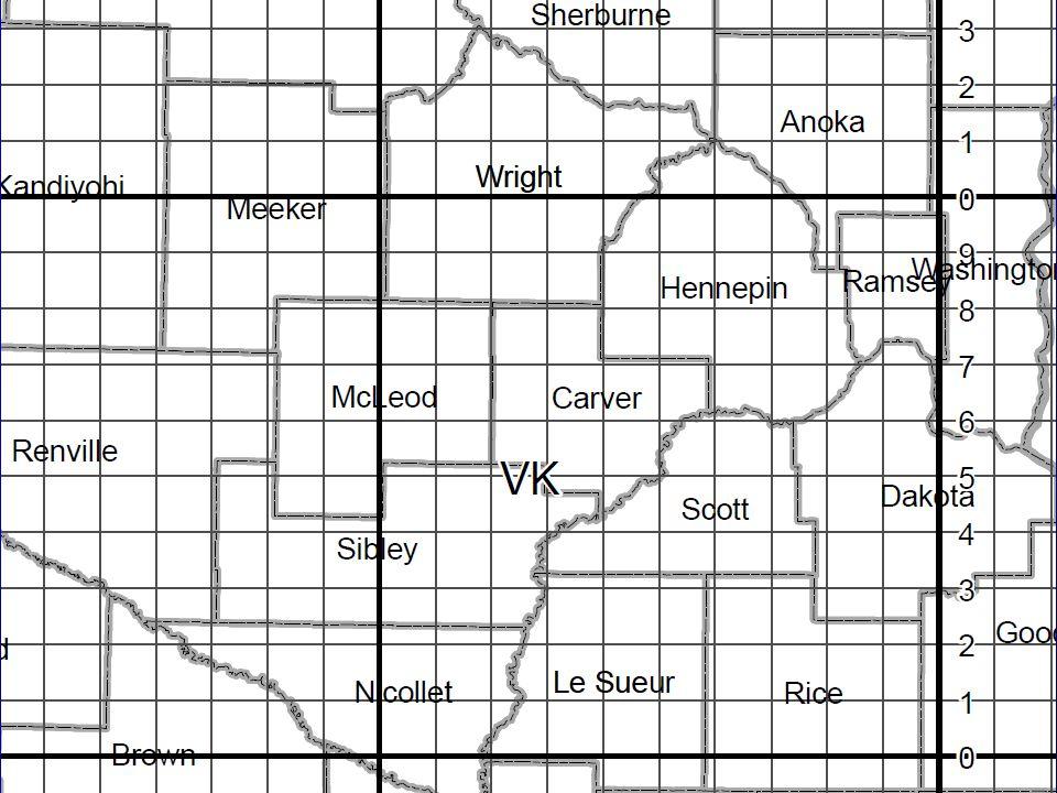 Map VK75 7456
