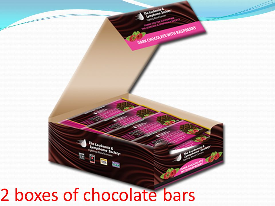 2 boxes of chocolate bars