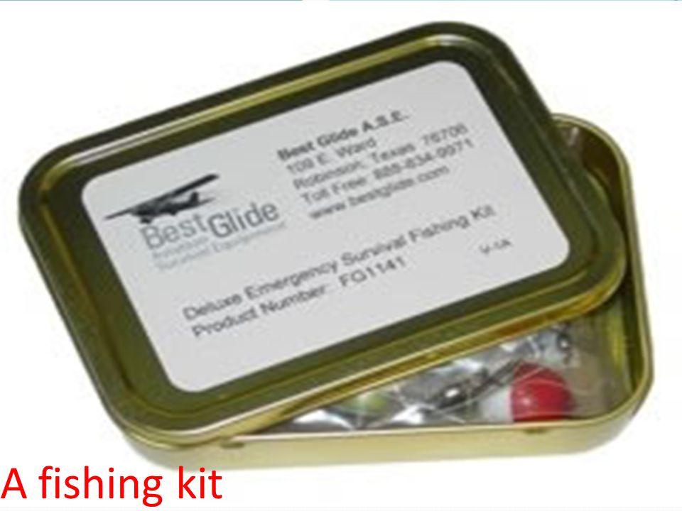 A fishing kit
