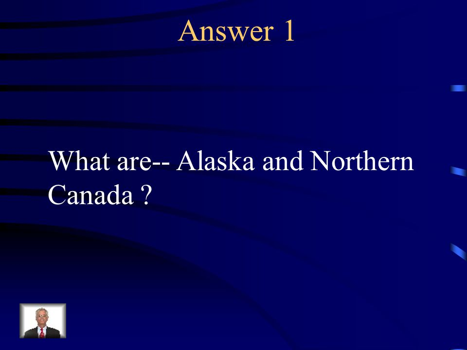 Question 1 The Inuits lived here.