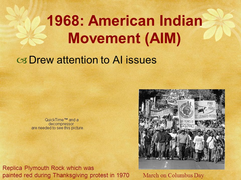 National Congress of American Indians (NCAI) News Broadcasts ROTATION 1: Begin a poster in support of the occupation of Mt.