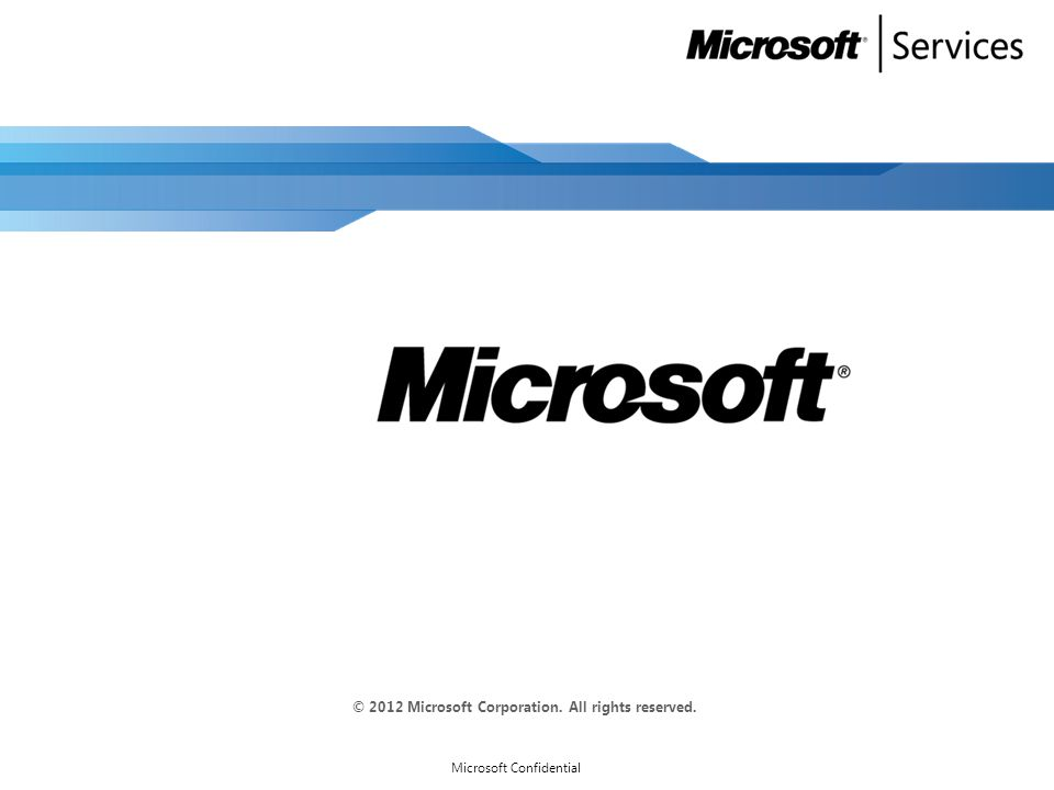 Creating Metering Rules Auto-created Microsoft Confidential 51