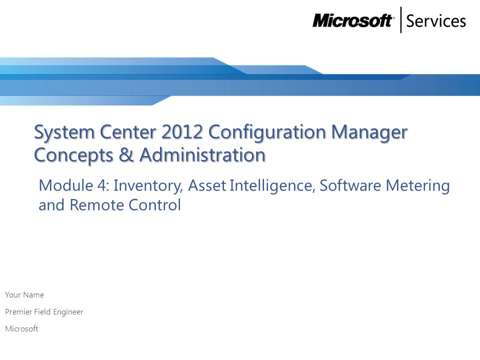 Lab: Customizing Hardware and Software Inventory Goals Scenario Enable, customize and report Hardware Inventory Enable, customize and report Software Inventory Enable, customize and report Hardware Inventory Enable, customize and report Software Inventory You are the administrator of a new Configuration Manager 2012 hierarchy.