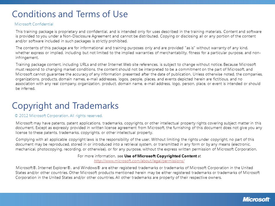 Reporting Class Dependencies SoftwareLicensingProduct Microsoft Confidential 33