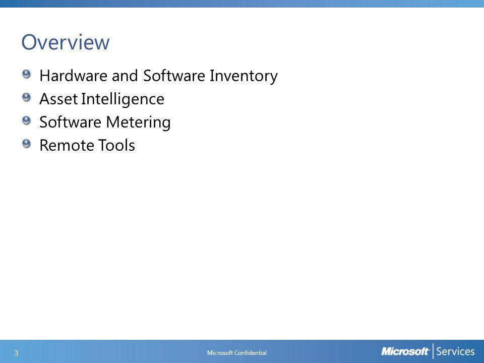 Remote Control Client Settings Microsoft Confidential 64