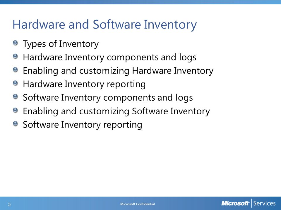 What is New in Asset Intelligence Enable Asset Intelligence reporting classes Changes to MVLS license statement import process 2 Maintenance Tasks Check Application Title with Inventory Information - checks that the software title reported in software inventory is reconciled with the software title in the Asset Intelligence catalog.