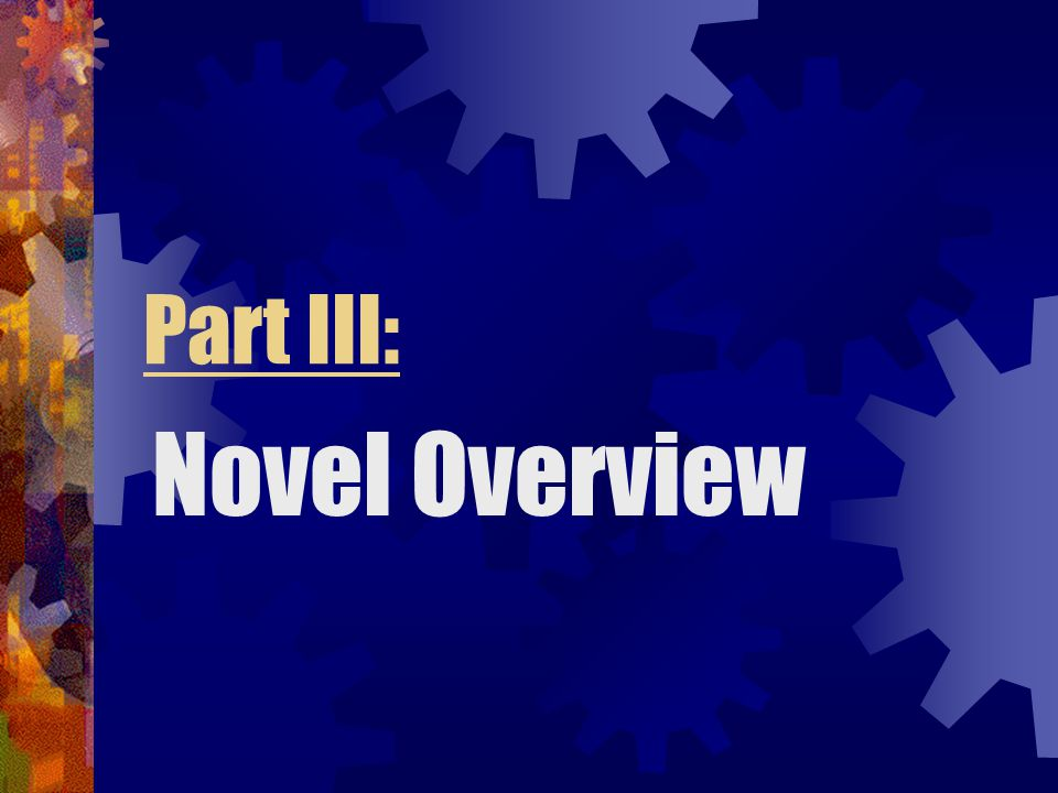 Part III: Novel Overview