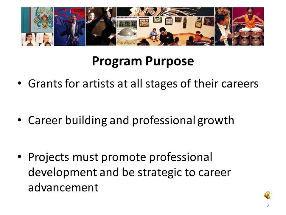 Artist Initiative Artist Initiative Deadlines Literary artsJune 13, 2014 Performing artsJuly 11, 2014 Visual artsAugust 1, 2014 For projects taking pl