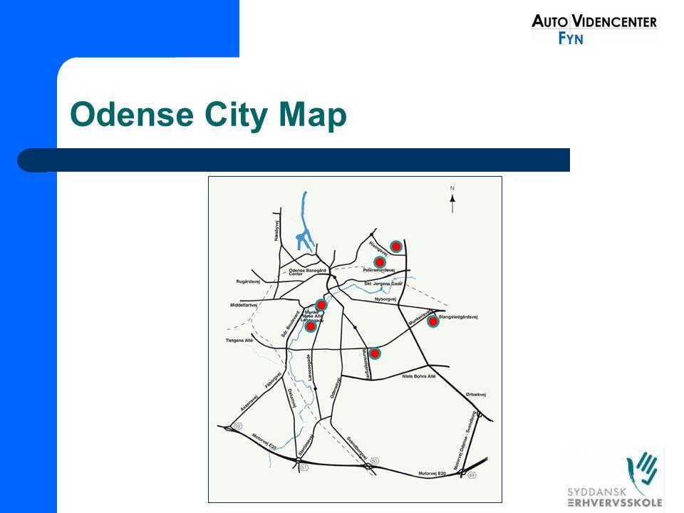 Odense City Map
