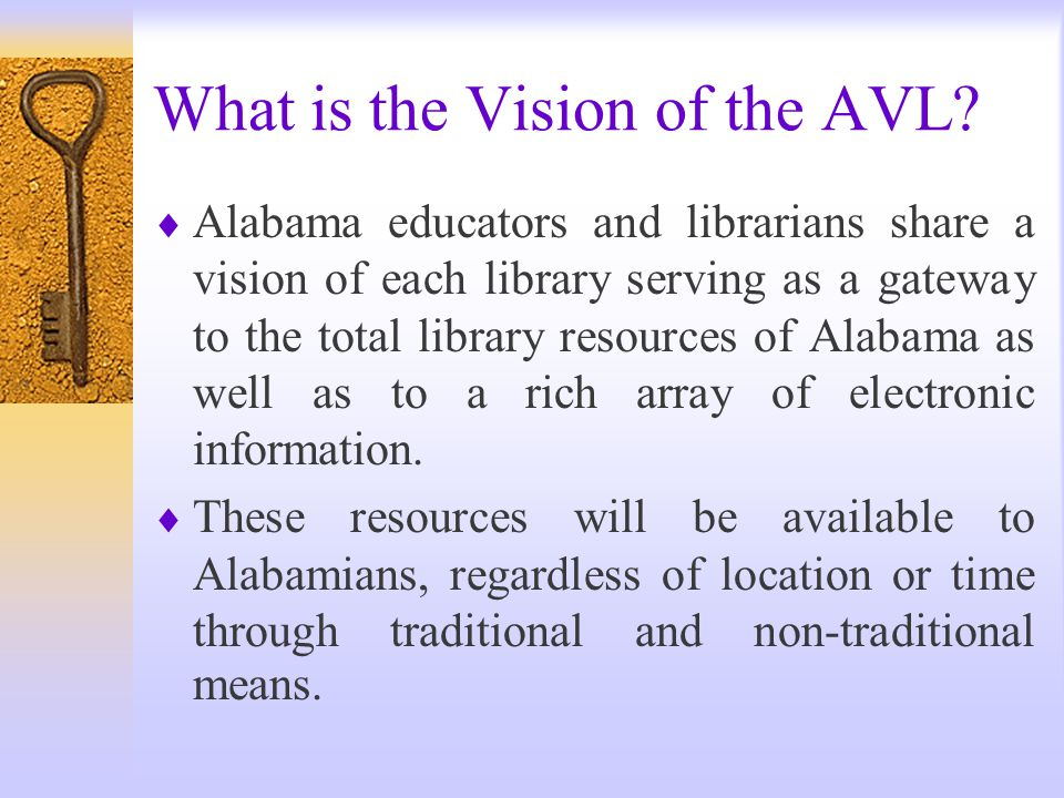 What is the Alabama Virtual Library .