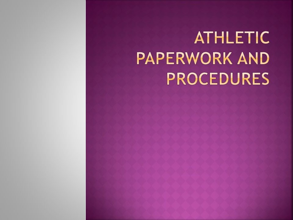  Proper conduct by athletes, coaches, parents and fans during a game is expected.