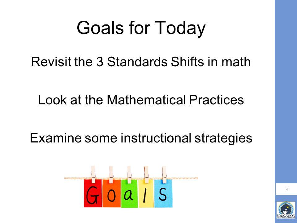 4 3 Shifts in Mathematics RigorCoherenceFocus