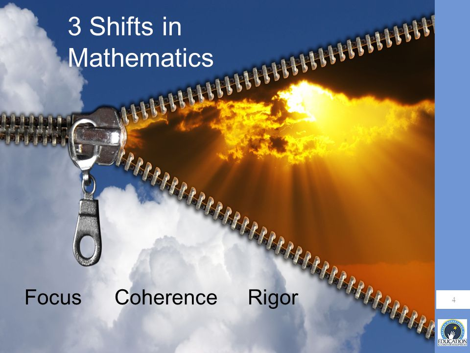 4 3 Shifts in Mathematics RigorCoherenceFocus