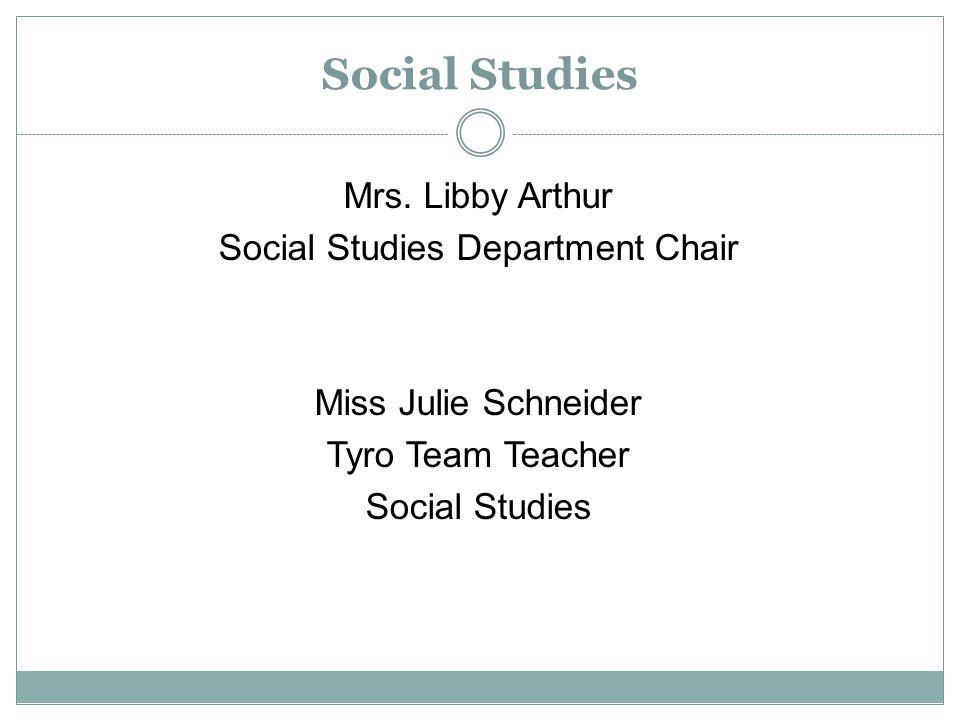 Social Studies Mrs.