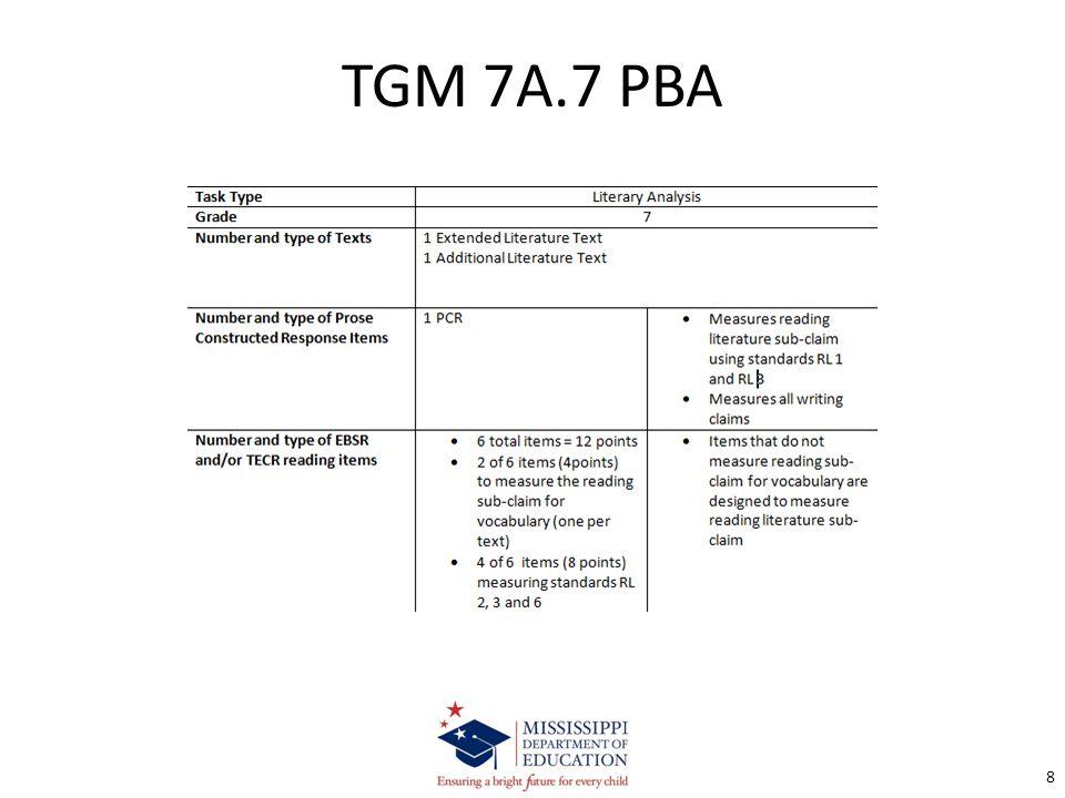 TGM 7A.7 PBA 8