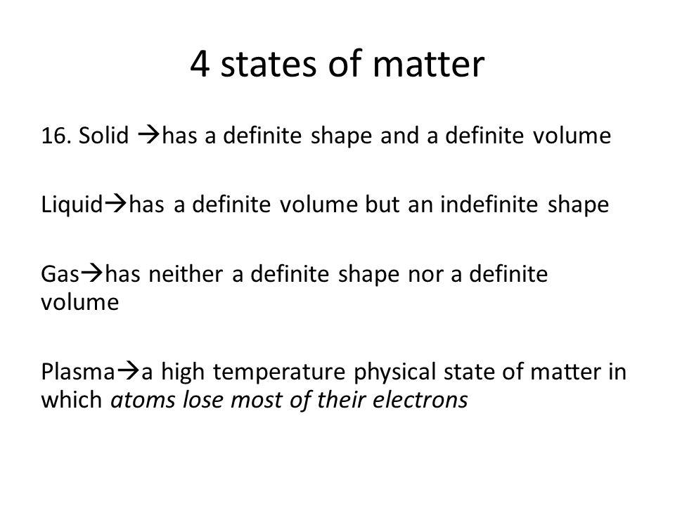 4 states of matter 16.
