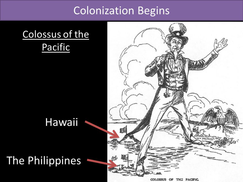 Colonization Begins Colossus of the Pacific Hawaii The Philippines