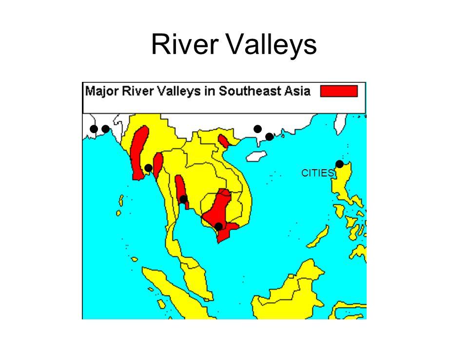 River Valleys CITIES