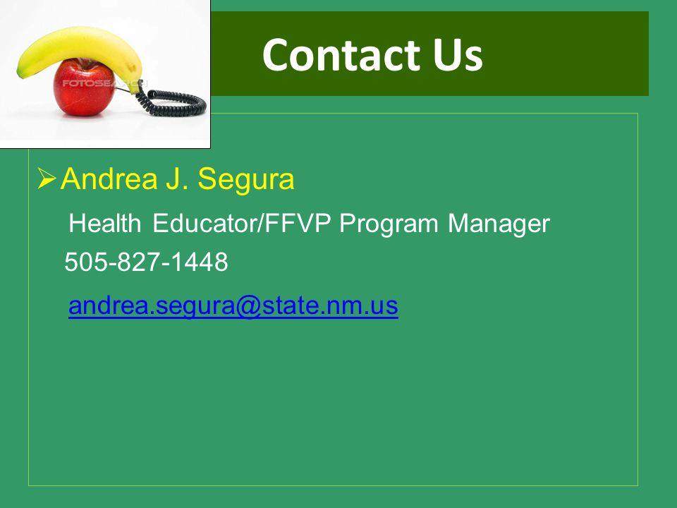Contact Us  Andrea J.