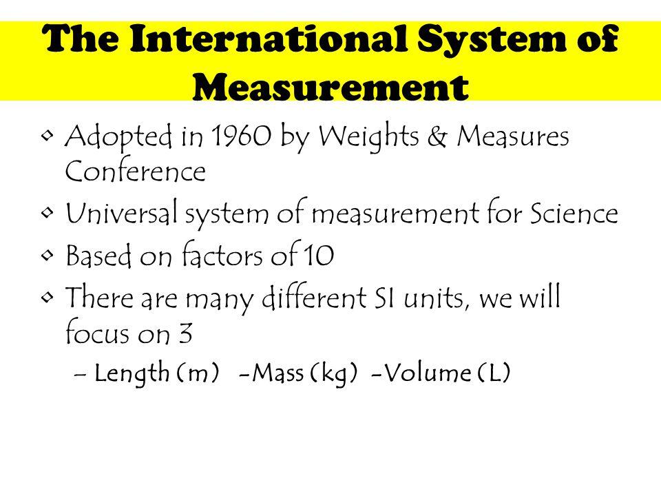 Lesson 1: Length T. Trimpe 2008 http://sciencespot.net/