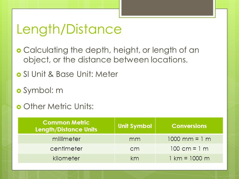  Tools: Length/Distance Meter Stick Metric Ruler Metric Tape Measure