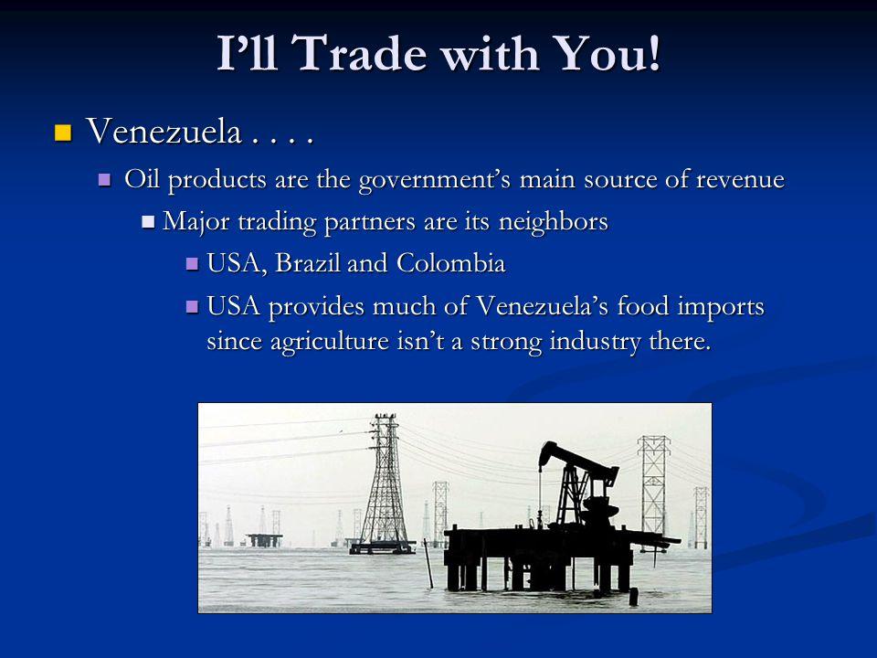 I'll Trade with You.Venezuela.... Venezuela....