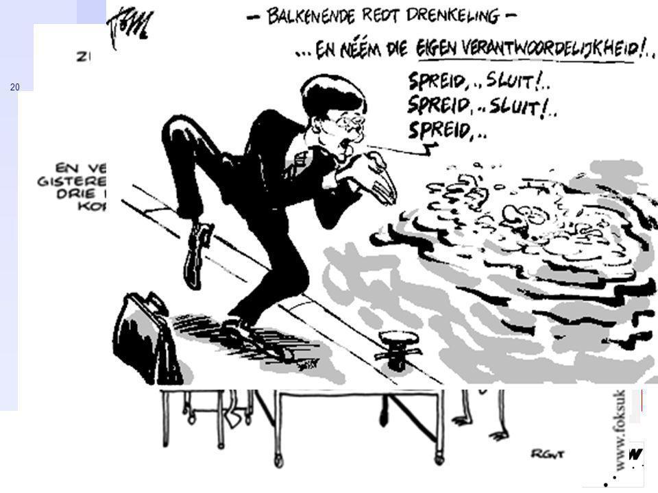 Ministerie van Sociale Zaken en Werkgelegenheid 20 Gouden tijden voor cartoonisten…
