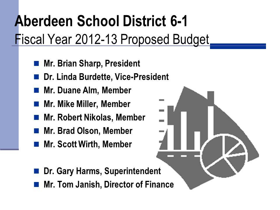Aberdeen School District 6-1 General Fund Expenditures FY 2012-13