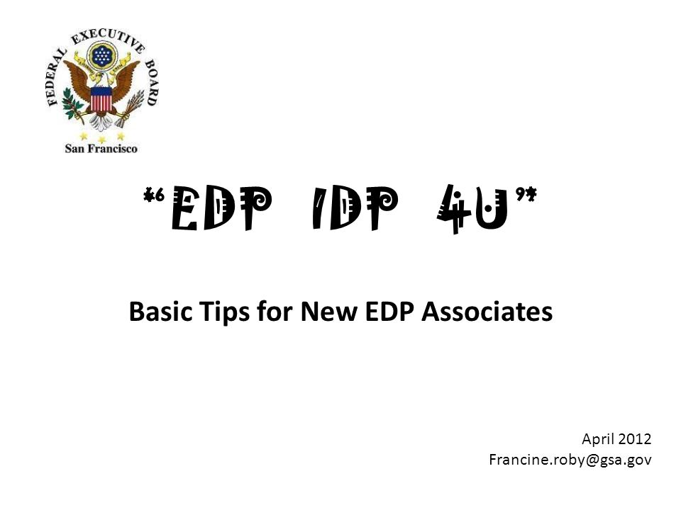 It's a journey, not a destination. IDP First Draft Review ECQs Input from Others Personal Vision