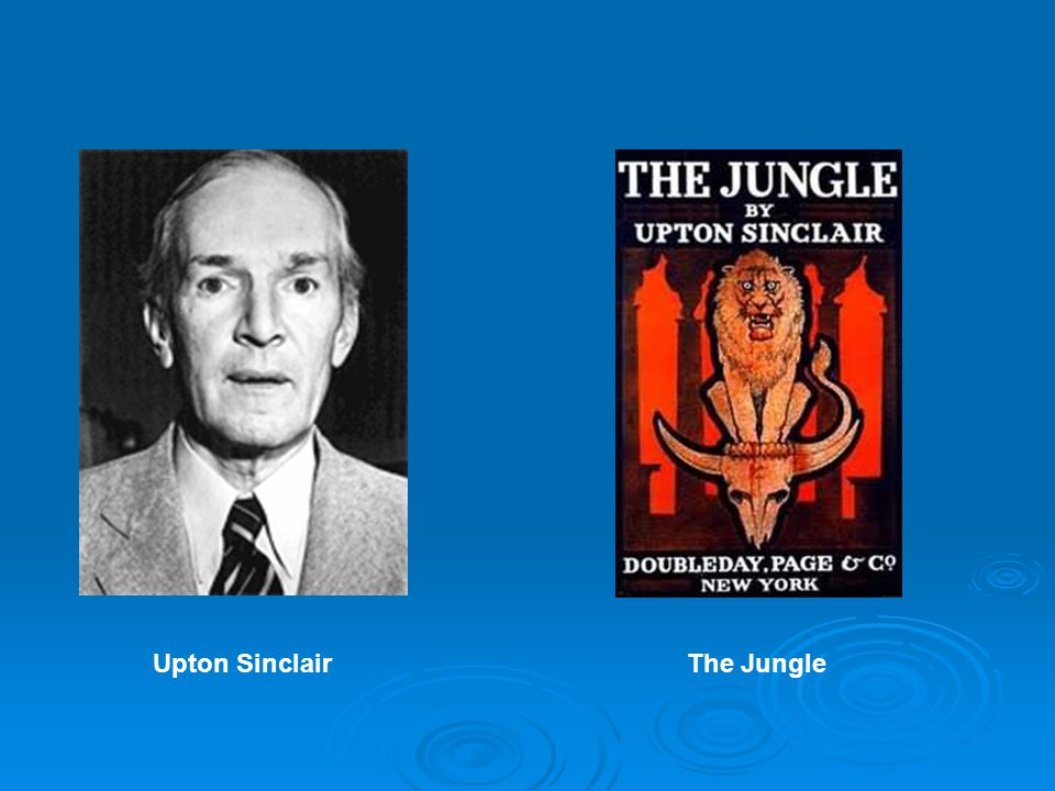 Upton SinclairThe Jungle