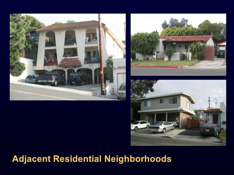 Adjacent Residential Neighborhoods