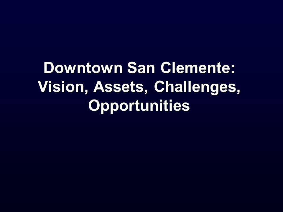 Downtown San Clemente: Vision, Assets, Challenges, Opportunities