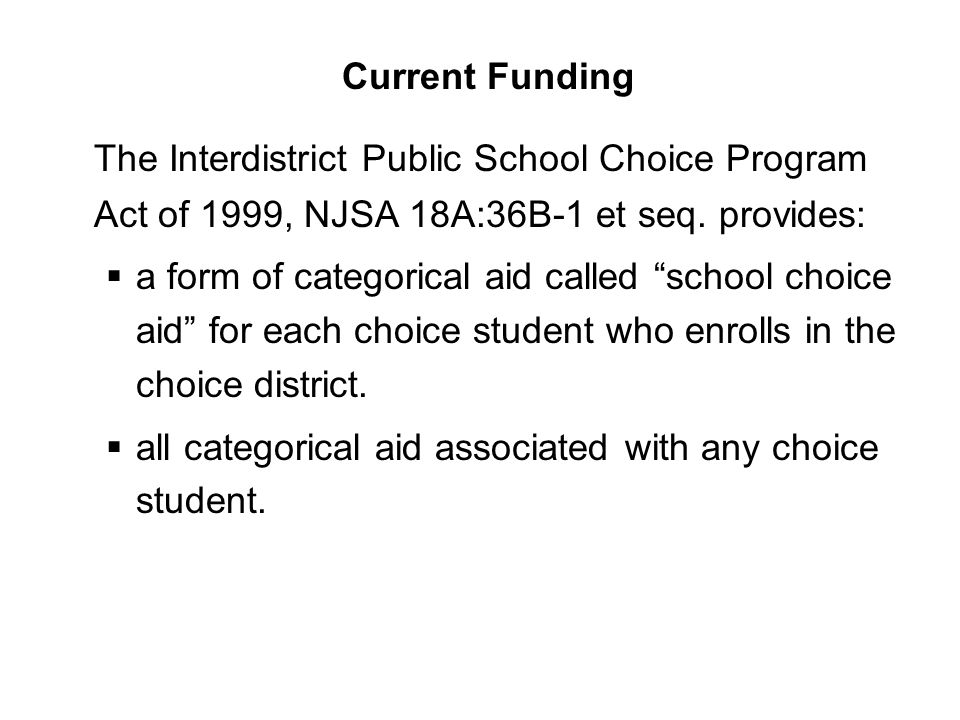  per pupil amount of school choice aid is calculated on the most recent biennial report.