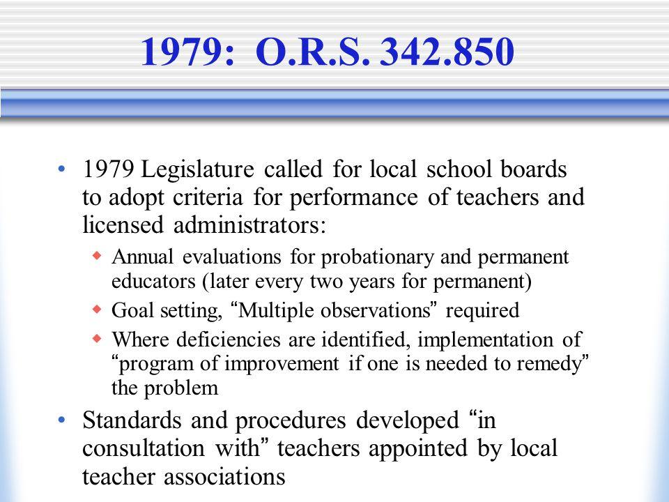 1979: O.R.S.