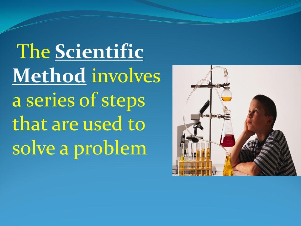 1.Problem/Question 2. Formulate a Hypothesis 3. Test the Hypothesis (Experiment) 4.