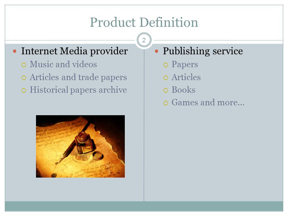 All Medial The Time Emedia New Product Service Proposal