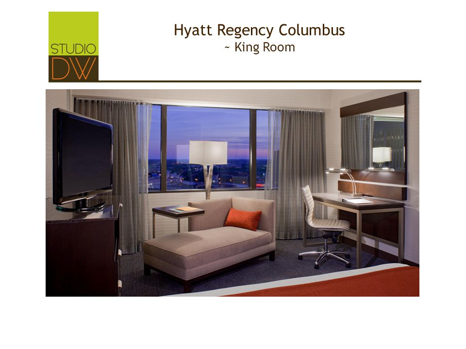 Hyatt Regency Columbus ~ King Room