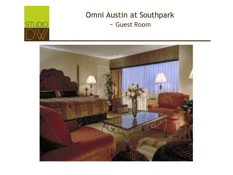 Omni Austin at Southpark ~ Guest Room