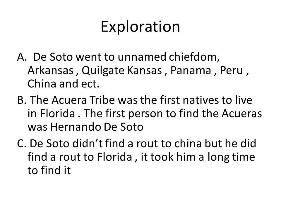 Exploration A.