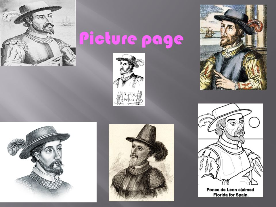 Picture page